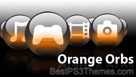 Orange Orbs Theme