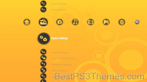 Orange Xb0ard Theme
