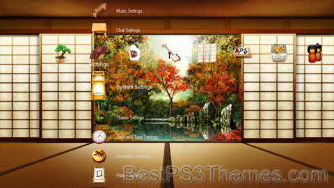 Oriental Garden Theme
