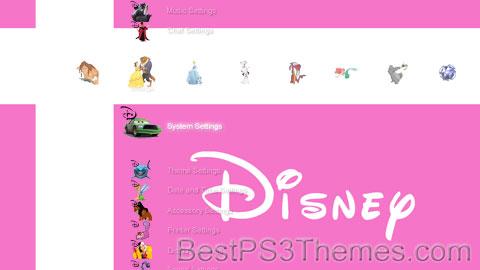 Pink Disney Theme