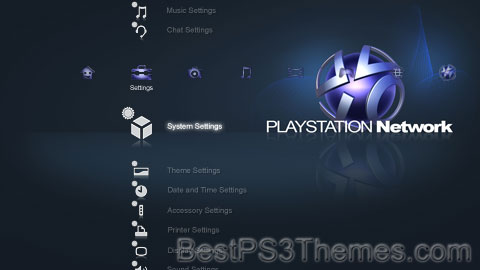 PLAYSTATION Network Theme 2
