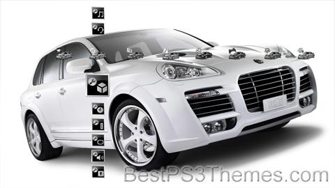 Porsche Cayenne HD Theme