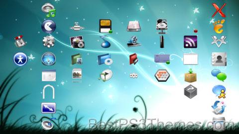 PS3.1X Azureal Theme