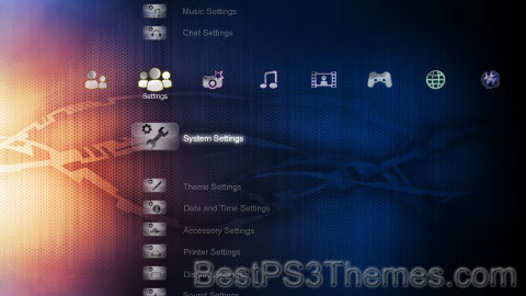 PS3.2X Techora Theme