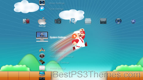 PS3 Apple 02 Theme