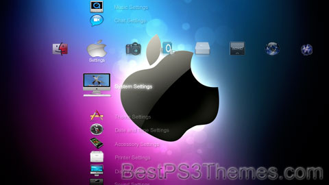 PS3 Apple 04 Theme
