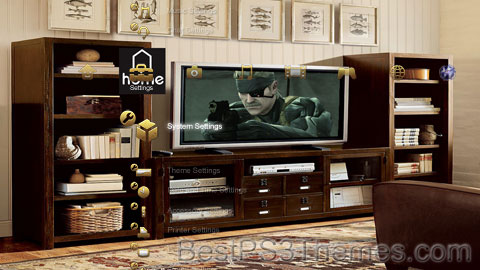 PS3@Home Theme