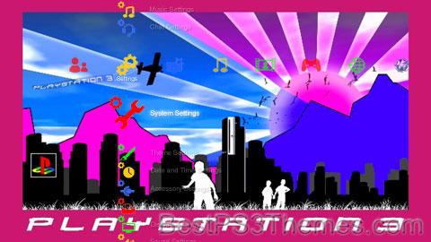 PS3 City Theme