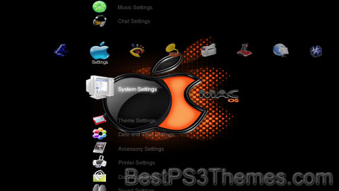 PS3 Crystal Mac 01 Theme