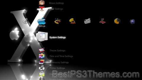 PS3 Crystal Mac 04 Theme