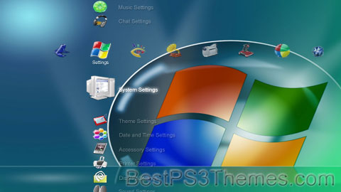 PS3 Crystal Vista 01 Theme