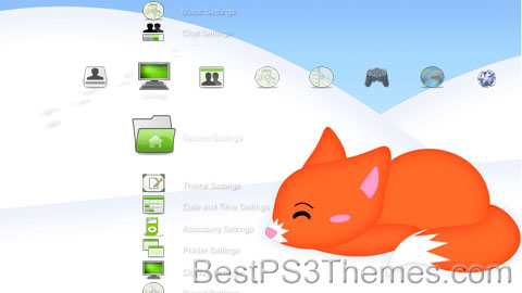 PS3 Fox Theme