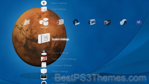 PS3 Galaxy 03 Theme