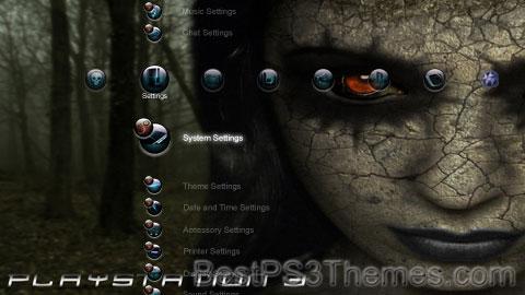 Playstation 3 HD Necroflesh Theme