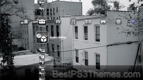 PS3 HUD Theme