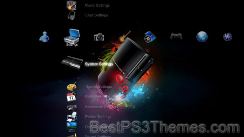 PS3 New Look Theme