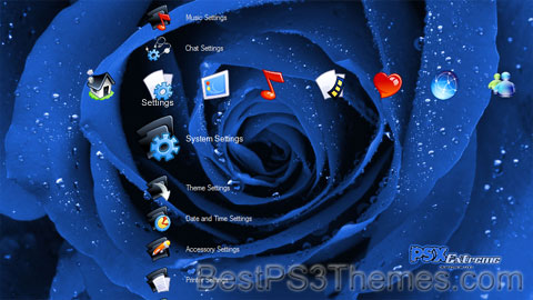 PS3 Roses Theme