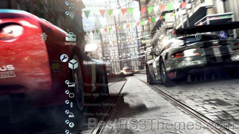 Race Driver GRID Theme