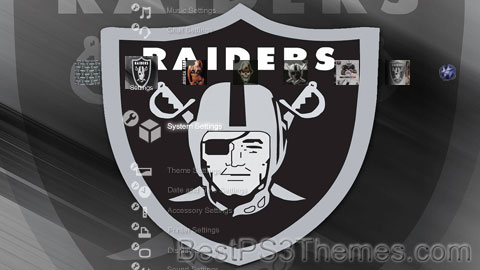 Raiders 3.0 Theme Preview