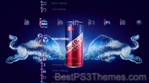 Red Bull Cola Theme