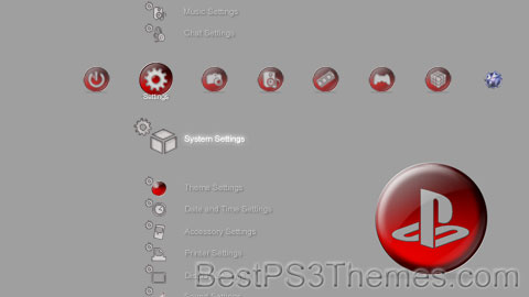Red Button Theme