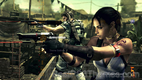 Resident Evil 5 Theme 4