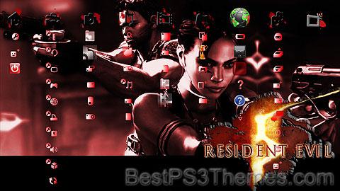 Resident Evil 5 PS3 Theme