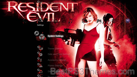 Resident Evil Theme 8