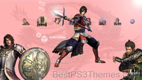 Samurai Warriors 3 Theme Preview