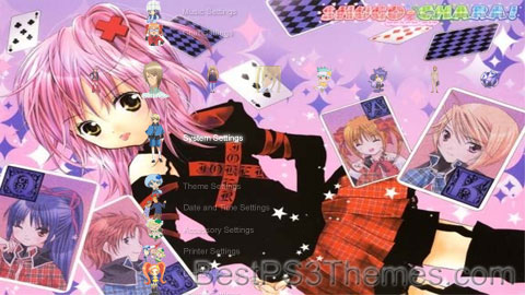 Shugo Chara Theme Preview