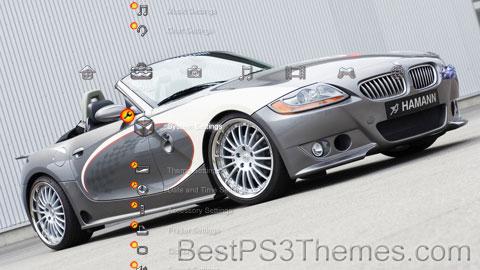Silver BMW Theme