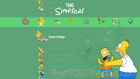 The Simpsons Theme 10