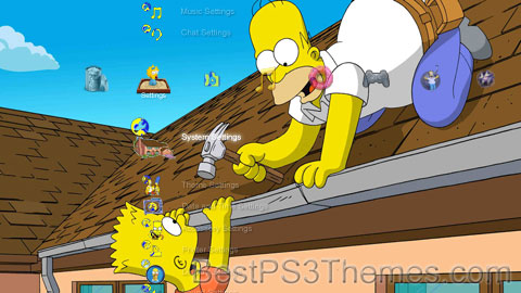 Simpsons #7 - Best PS3 Themes