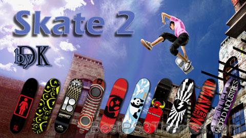 Skate 2 by DK Theme