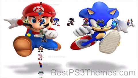 Sonic and Mario Theme