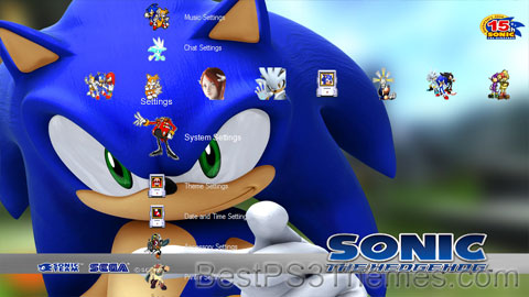 Sonic | Best PS3 Themes