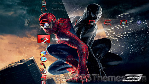 Spiderman Rojo Theme