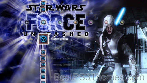 Star Wars Force Unleashed CRYSTAL Theme