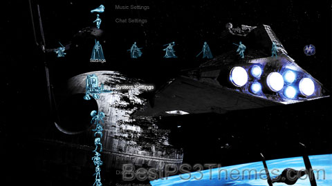 Star Wars Holographic Theme