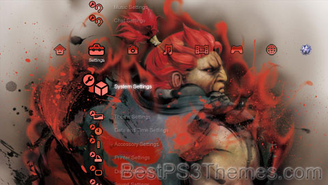 Street Fighter Akuma - Khouba Theme Preview