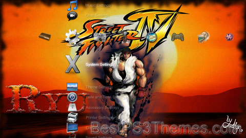 Street Fighter IV Theme Preview