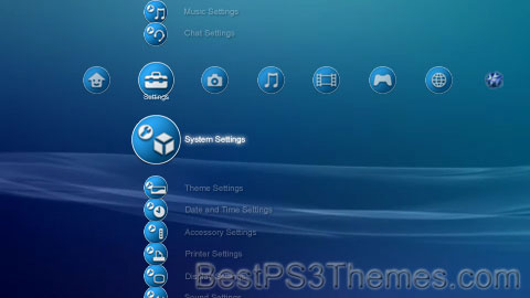 Style Blue Theme Preview