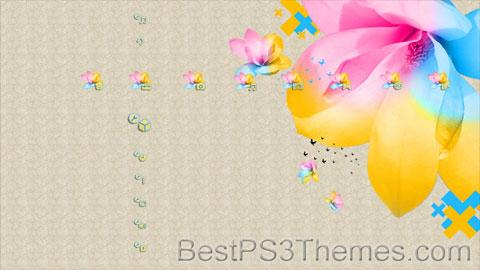 Summer Flower Theme