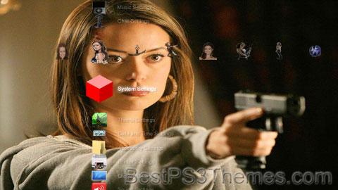 Summer Glau 2.1 Theme Preview
