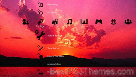Superb Sunset Theme