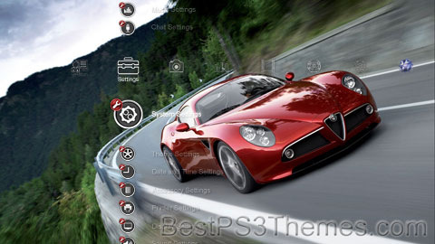 Supercars - 8c Competition Theme