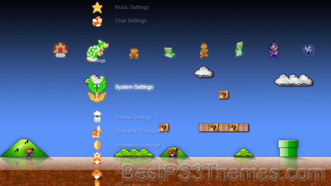 Mario | Best PS3 Themes