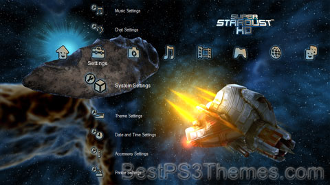 Super Stardust HD Theme