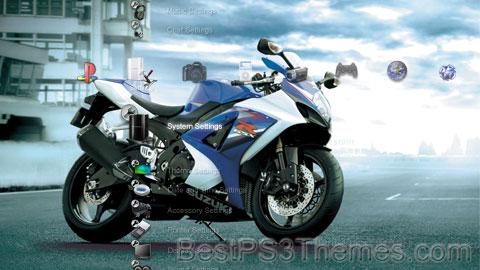 Suzuki GSX-R K7 Theme