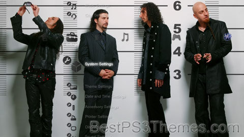 System of a Down (SOAD) Theme